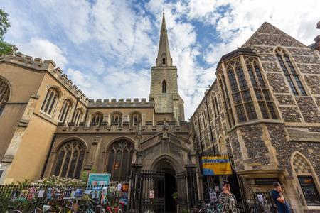 evangelical: Holy Trinity Church in Cambridge, England.  Its current vicar is Rupert Charkham and it stands within the charismatic evangelical tradition of the Church of England.