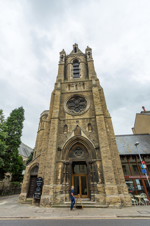 catholic church: Emmanuel United Reformed Church, Cambridge, England. This congregational church voted to join the new United Reformed Church in 1972.