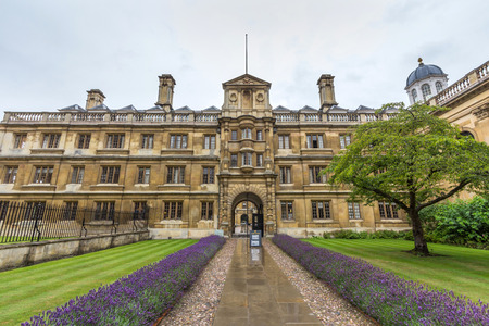surviving: Clare College in the University of Cambridge in Cambridge, England. The college was founded in 1326 as University Hall, making it the second-oldest surviving college.