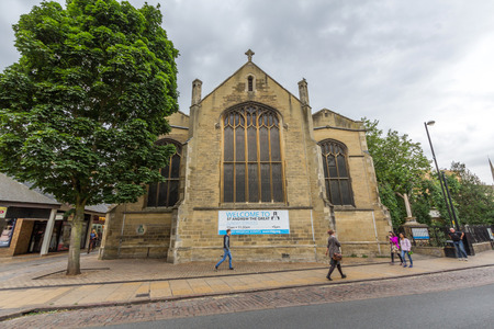 conservative: St Andrew the Great Church. It is a Church of England parish church in central Cambridge. The church has a conservative evangelical tradition.