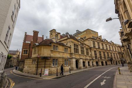 cambridge: University of Cambridge New Museums Site in Cambridge, UK. Editorial