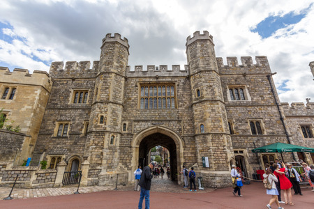 berkshire: Windsor Castle. It is a royal residence at Windsor in the English county of Berkshire. The castle is notable for its architecture. Editorial