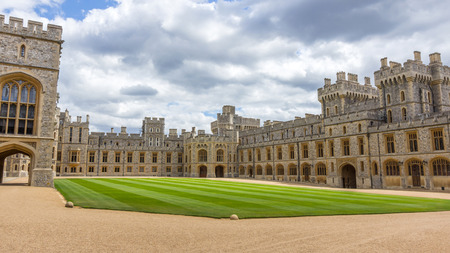 berkshire: Upper Ward of Windsor Castle. It is a royal residence at Windsor in the English county of Berkshire. The castle is notable for its architecture. Editorial