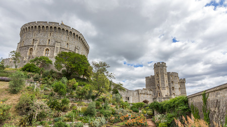berkshire: Round tower of Windsor Castle. It is a royal residence at Windsor in the English county of Berkshire. The castle is notable for its architecture.