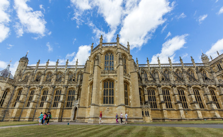 peculiar: St Georges Chapel is the place of worship at Windsor Castle in England, United Kingdom. It is both a royal peculiar and the chapel of the Order of the Garter.