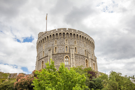 notable: Round tower of Windsor Castle. It is a royal residence at Windsor in the English county of Berkshire. The castle is notable for its architecture.