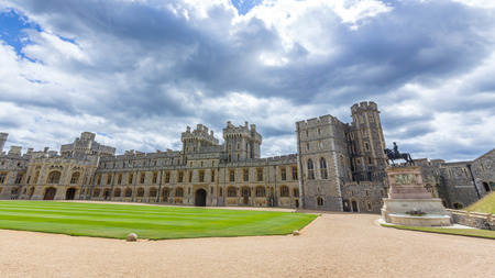 notable: Visotors apartments of Windsor Castle. It is a royal residence at Windsor in the English county of Berkshire. The castle is notable for its architecture.