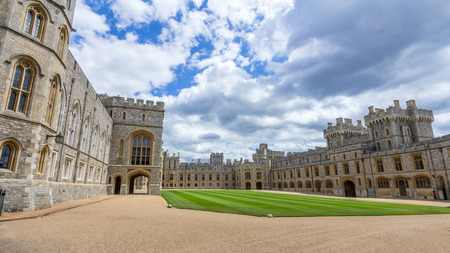 king edward: Upper Ward of Windsor Castle. It is a royal residence at Windsor in the English county of Berkshire. The castle is notable for its architecture. Editorial