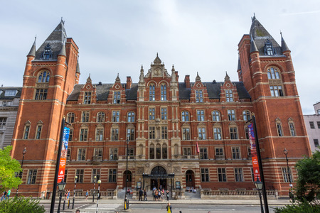 typically english: The Royal College of Music. It is a conservatoire established by royal charter in 1882, located in South Kensington, London, UK.