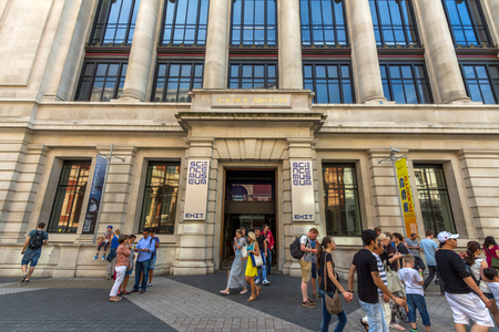 Science Museum in London. It was founded in 1857 and today is one of the citys major tourist attractions, attracting 3.3 million visitors annually.