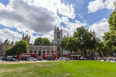 Westminster Abbey is located in the City of Westminster, London, next to the Palace of Westminster. It is formally titled the Collegiate Church of St Peter at Westminster. Editorial