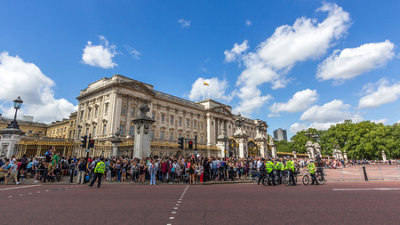 monarchy: Buckingham Palace is the London residence and principal workplace of the monarchy of the United Kingdom. It is often at the centre of state occasions and royal hospitality. Editorial