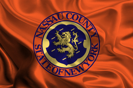 orange county: Flag of Nassau County of the USA