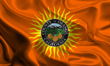 orange county: Flag of Orange County of the USA