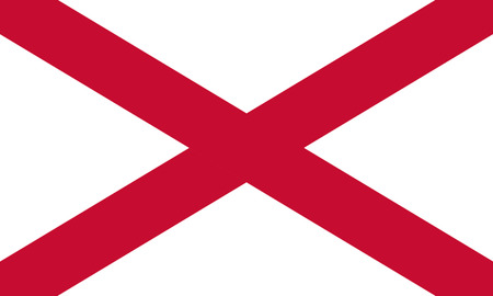 northern ireland: St Patricks Saltire is sometimes used by the British government to represent Northern Ireland.