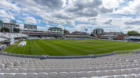 lord's: Lords Cricket Ground in London, England. It is referred to as the home of cricket and is home to the worlds oldest cricket museum. Editorial