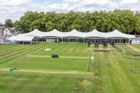 lord's: Lords, Middlesex C.C.C. Practice Cricket Ground in London, UK. Editorial