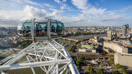 millennium wheel: The London Eye is a giant Ferris wheel on the South Bank of the River Thames in London. Also known as the Millennium Wheel.