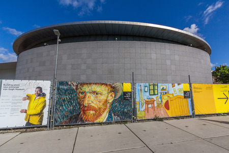 The Van Gogh Museum is an art museum in Amsterdam in the Netherlands dedicated to the works of Vincent van Gogh and his contemporaries. 新聞圖片