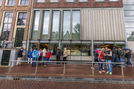 jewish houses: The Anne Frank House is a writers house and biographical museum dedicated to Jewish wartime diarist Anne Frank. The building is located on a canal called the Prinsengracht. Editorial