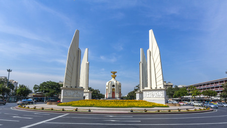 democracy Monument: Democracy Monument in Bangkok, Thailand