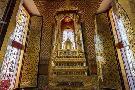 Loha Prasat Metal Castle in Wat Ratchanatdaram. Wat Ratchanatdaram is a buddhist temple in Bangkok, Thailand.