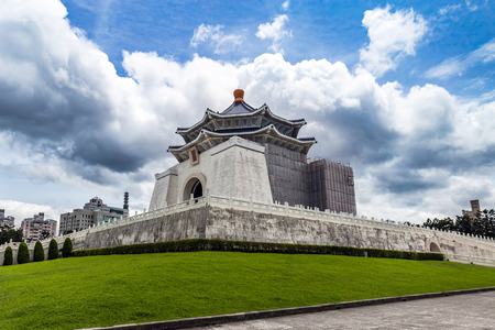 The National Chiang Kai-shek Memorial Hall in Taipei, Taiwan