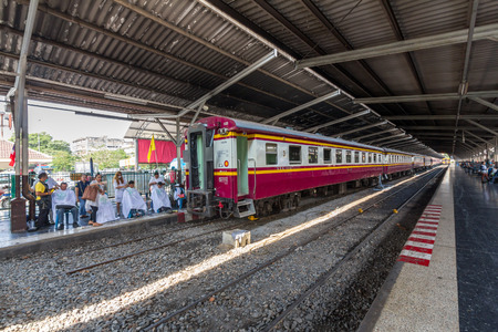 Bangkok Railway Station, unofficially known as Hua Lamphong Station, is the main railway station in Bangkok, Thailand. It is operated by the State Railway of Thailand. Editorial
