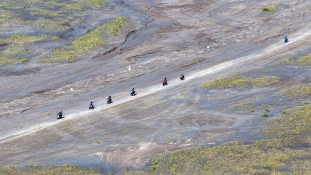 Bike tours in Bromo Tengger Semeru National Park in Indonesia