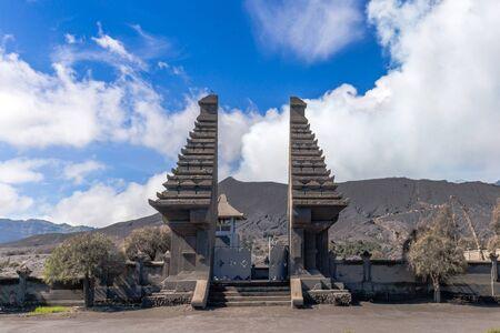 Pura Luhur Poten Gunung Bromo in Java, Indonesia