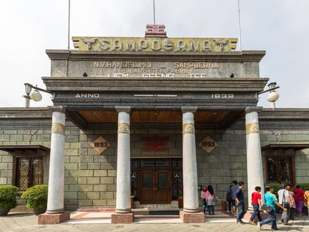 The House of Sampoerna is a tobacco museum and headquarters of Sampoerna located in Surabaya, Indonesia