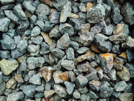 Decorative cracked grey stones close-up Banque d'images - 133061309