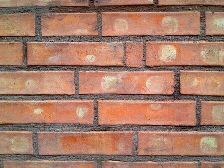 Retro   old brick wall design  close-up Banque d'images - 133065478