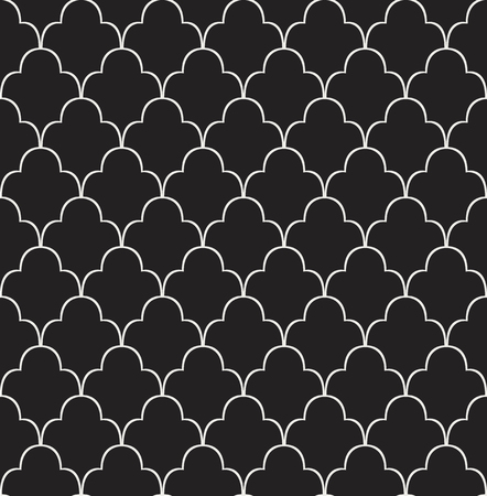 Vintage Vector Art Deco Seamless Pattern. Geometric decorative texture. Imagens - 94888629