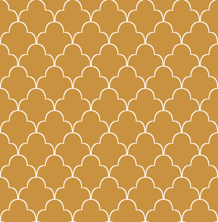 Vintage Vector Art Deco Seamless Pattern. Geometric decorative texture.
