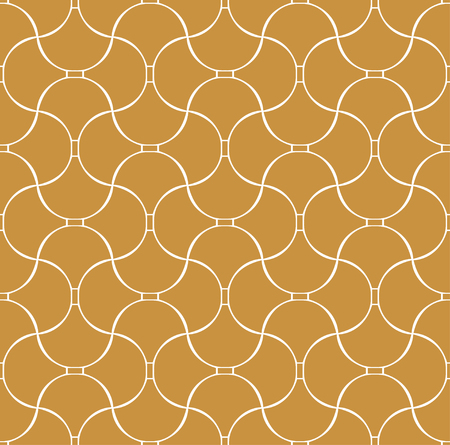 Vintage Vector Art Deco Seamless Pattern. Geometric decorative texture. Vector floral background.