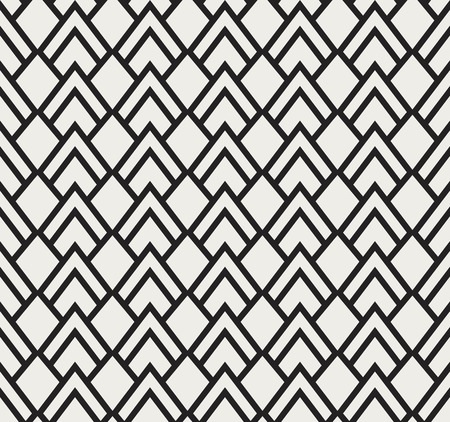 A Seamless Triangle Art Deco Pattern on Stylish antique background.