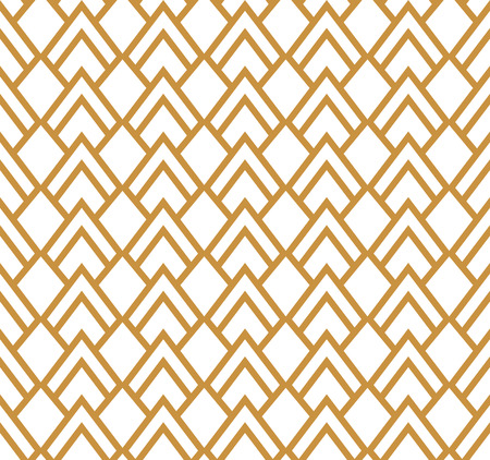 A Seamless Art Deco Pattern on Stylish antique background.