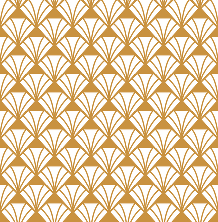 Seamless Diamond Art Deco Pattern. Stylish antique background.