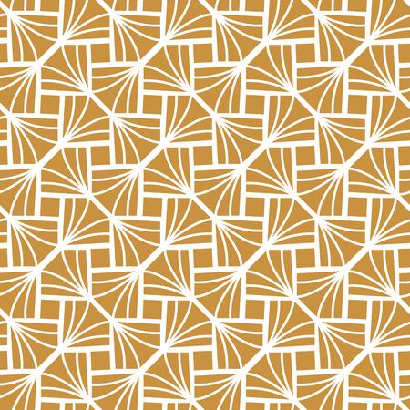 Klassiek Art Deco naadloze ruitpatroon. Geometrische stijlvolle textuur. Abstracte Retro Vectortextuur.