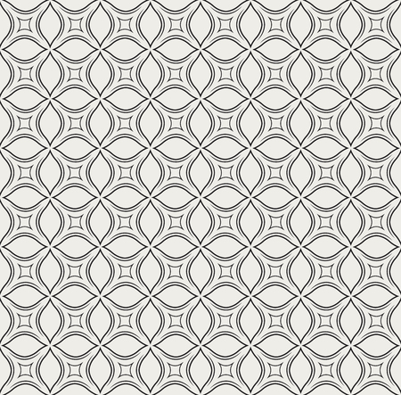 Elegant Decorative Flourish Seamless Pattern. Oriental floral background. Vector vintage texture.