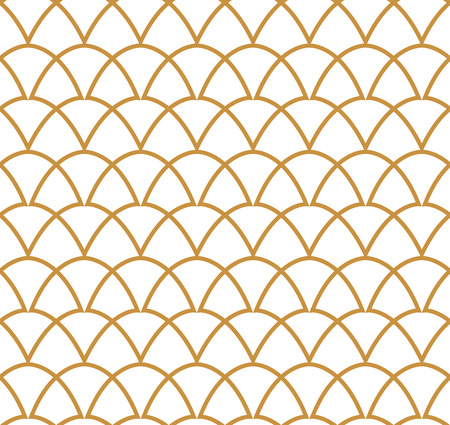 Classic Art Deco Seamless Pattern. Geometric Stylish Texture. Abstract Retro Vector Texture.
