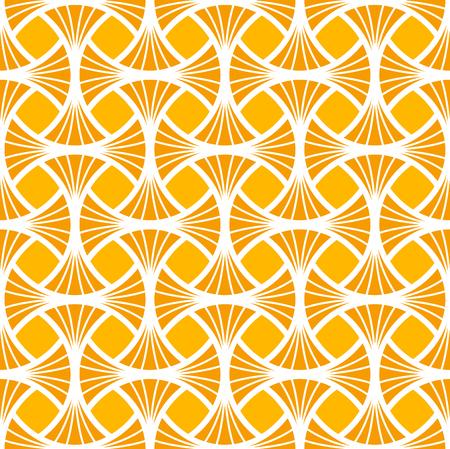 Naadloos Art Deco-patroon. Stijlvolle antieke achtergrond. Vector Illustratie