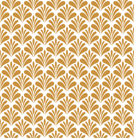 Vector abstract arabesque seamless pattern. Geometric classic background. Vintage art deco texture. Illustration