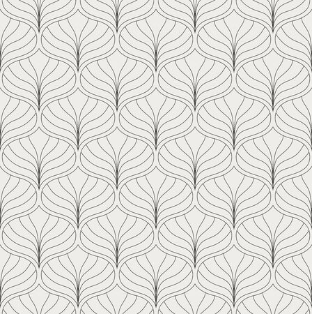 Abstract Seamless Art Deco Pattern. Stylish antique background.