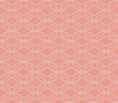 Clásico Art Deco de patrones sin fisuras. Textura geométrica con estilo. Textura abstracta del vector retro. Ilustración de vector