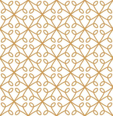 Vintage Art Deco Seamless Pattern. Geometric decorative texture. Banco de Imagens - 151222195