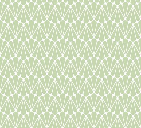 Abstract Seamless Pattern with Leaves. Vector Leaf Fashion Texture. Çizim