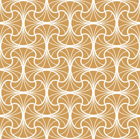 Vector Seamless pattern. Stylish abstract art deco texture.