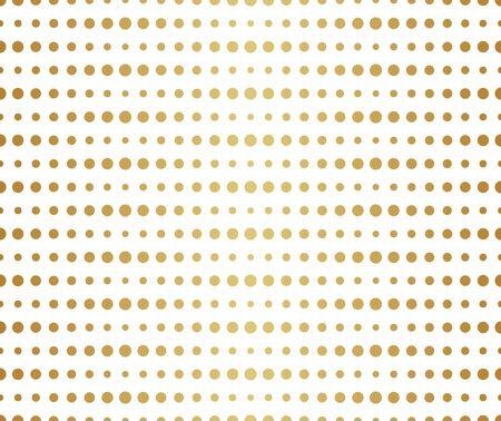 Halftone Dots Vector Pattern. Retro Style Background. Parametric Circle Texture. Illustration